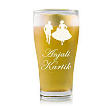 Personalised Beer Glass 2212: