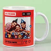 Personalised Best Friends Forever Mug: Friendship Day Gifts