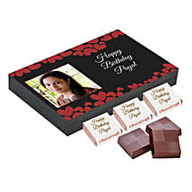 Personalised Birthday Decorated Chocolate Box: Birthday Personalised Gifts