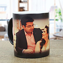 Personalised Black Magical Mug: Send Gifts for Boyfriend