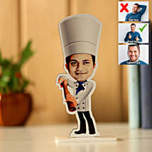 Personalised Chef Caricature: Send Caricatures