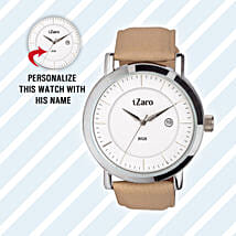 Personalised Classy Watch For Him: Watches