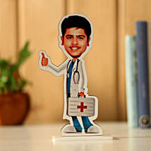 Personalised Male Doctor Caricature: Send Caricatures