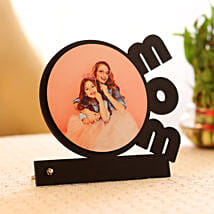 Personalised Mom Round Photo Frame: Personalised Photo Frames
