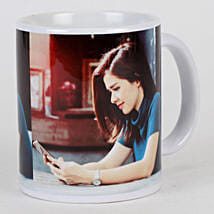 Personalised White Ceramic Mug: Gifts for Daughters Day