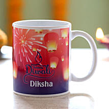 Personalised Name Diwali Mug: Send Personalised Gifts for Diwali