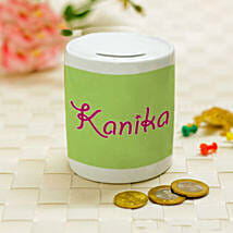 Personalised Name Piggy Bank: New Arrival Personalised Gifts