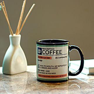 Personalised Prescription Coffee Mug: Bhai Dooj Personalised Gifts