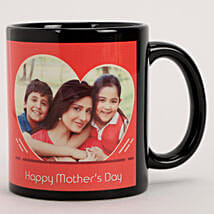 Personalised Red Heart Mug For Mother's Day: Mugs for Mother's Day