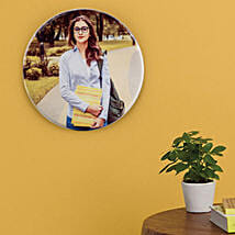 Personalised Round Tile Frame: Personalised Photo Frames for Her