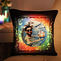 Personalised Vibrant LED Cushion: Buy Cushions