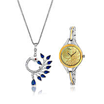 Personalised Watch & Beautiful Pendant: Watches