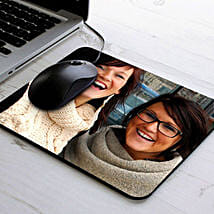 Personalize Photo Mouse Pad: Personalised Gifts for Husband
