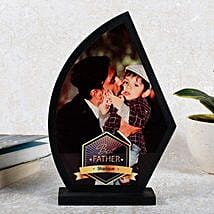 Personalized Best Father Trophy: Fathers Day Personalised Gifts