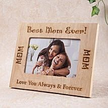 Personalized Best Mom Photo Frame: Personalised Photo Frames for Mothers Day