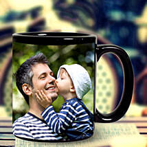 Personalized Black Mug: Send Fathers Day Gifts to Gurgaon