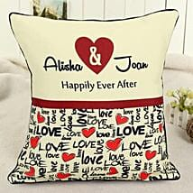 Personalized Celebrating Intimacy: Personalised Cushions for Valentine