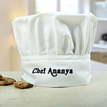 Personalized Chefs Hat: Send Personalised Gifts to Wardha