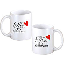 Personalized Couple Mugs: Personalised Gifts Sirsa