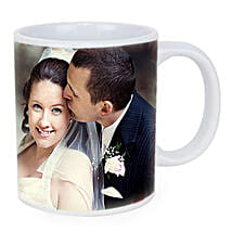 Personalized Couple Photo Mug: Hyderabad anniversary gifts