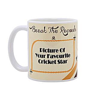 Personalized Cricket Love Mug: Send Personalised Mugs for Husband