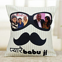 Personalized Exotic Cushion: Fathers Day Personalised Cushions