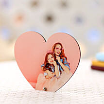Personalized Heart Frame: Mothers Day Gifts Chandigarh