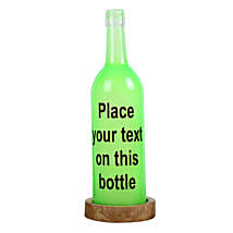 Personalized Lamp With Message: Birthday Bottle Lamps