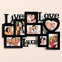 Personalized Live Love Laugh Frames: Send Personalised Gifts to Wardha