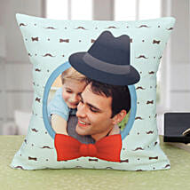 Personalized Longing Forever Cushion: Personalised Cushions for Fathers Day