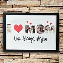 Personalized Love Alaways Frame: Mothers Day Photo Frames