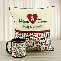 Personalized Love Of My Life: Personalised Cushions for Valentine