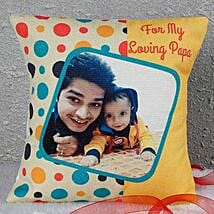 Personalized Loving Papa Cushion: Personalised Cushions for Fathers Day