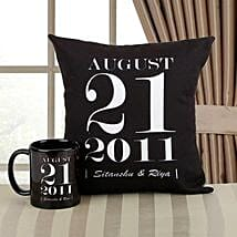Personalized Memories Combo: Personalised Gifts Kashipur