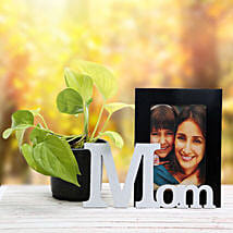 Personalized Mom Frame N Plant: Send Personalised Gifts to Kashipur