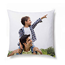 Personalized Photo Cushion: Fathers Day Personalised Cushions