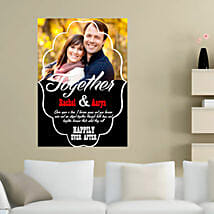 Personalized Photo Poster: Valentine Custom Gifts for Boyfriend