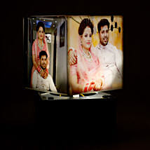 Personalized Rotating Lamp Mini: Send Personalised Gifts to Karnal