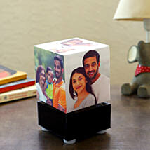 Personalized Rotating Lamp Mini: Anniversary Gifts