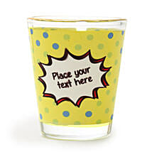 Personalized Text Shot Glass: Personalised Gifts for Husband