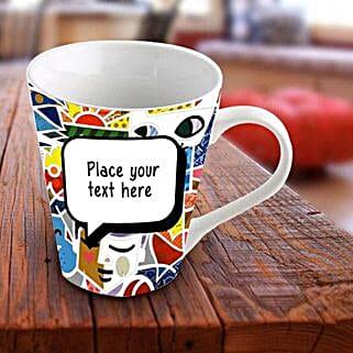 Personalized Vibrant Mug: Congratulations Gifts