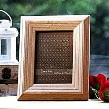 Personalized Wooden Charm: Send Personalised Photo Frames for Him
