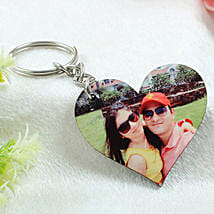 Personalized Wooden Key Chain: Valentine Personalised Gifts for Boyfriend