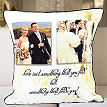 Personalized Years Of Togetherness Cushion: Valentine Custom Gifts for Boyfriend