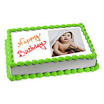 Photo Cake Pineapple: Personalised Gifts Pimpri-Chinchwad