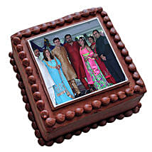 Photo Square Chocolate Cake: Cakes to Kalyan