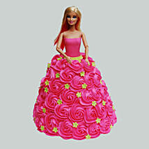Pink Barbie Cake: Cakes to Kalyan