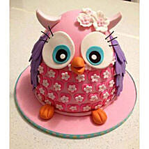 Pinki The Owl Cake: Send Red Velvet Cakes to Bangalore