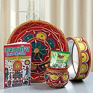Pooja Ki Thali: Karwa Chauth Pooja Thali