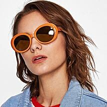 Prishie Rusty Orange Sunglasses For Female: Sunglasses Gifts
